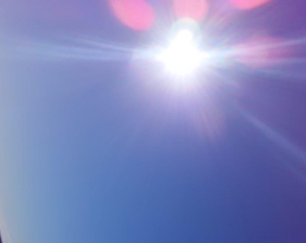 太陽の輝きにありがとう♪