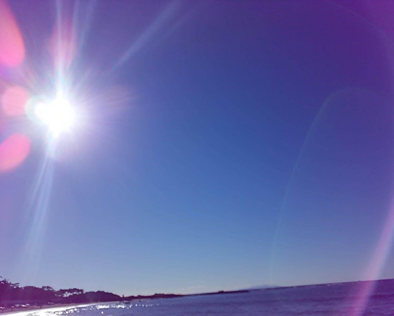 海の輝き!
