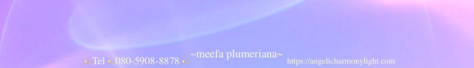 エンジェリックハーモニーライト meefa plumeriana